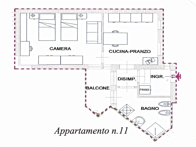 App.n.11_Residence Via Frà Carnevale